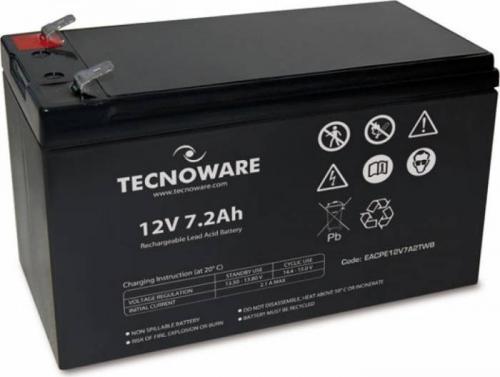 Baterie UPS Tecnoware EACPE12V7A2TWB, Black