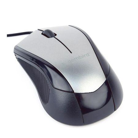 Mouse Gembird MUS-3B-02-BG, Black/Grey