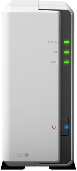 Network Attached Storage Synology DiskStation DS120j, White
