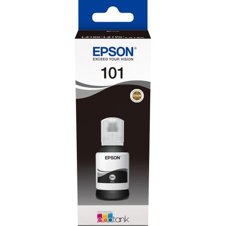 Cartus cerneala Epson 101 ECOTANK , black, capacitate 127ml, pentru L6170, L4160, L4150, L6190