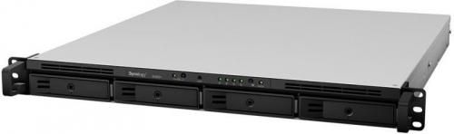 Network Attached Storage Synology 1U RackStation RS820+, Black/Grey