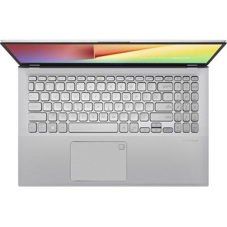 Notebook ASUS X512DA-EJ171, 15.6 FHD, AMD Ryzen 5 3500U 2.1GHz, RAM 8GB DDR4, SSD 512GB, video AMD Vega 8, Silver, fara OS: