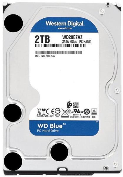 """Hard-disk Western Digital WD20EZAZ, 2TB, SATA 3, 5400 rpm, 256MB, 3.5"""""""
