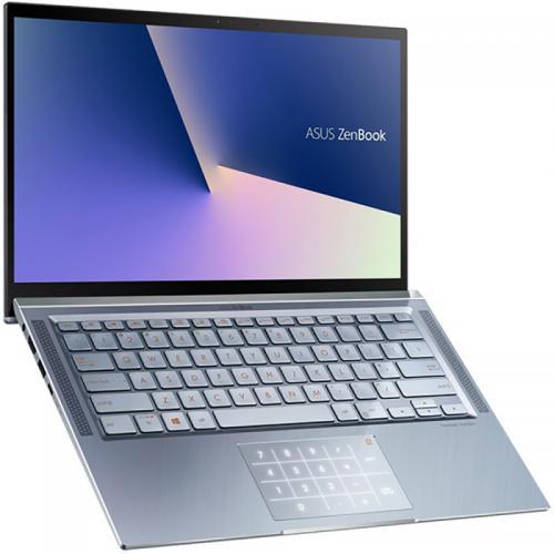 "Ultrabook ASUS Zenbook 14 UM431DA-AM029, 14"" FullHD, AMD Ryzen 7 3700U 2.3GHz, RAM 16GB DDR4, SSD 512GB, video AMD Radeon Vega 10, Blue Metal"