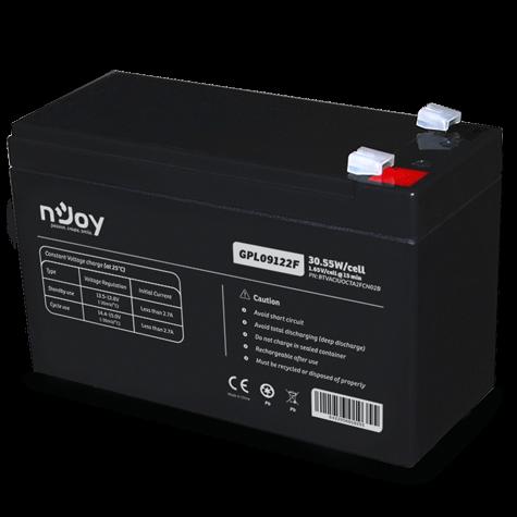 Acumulator UPS nJoy BTVACIUOCTA2FCN02B, Black