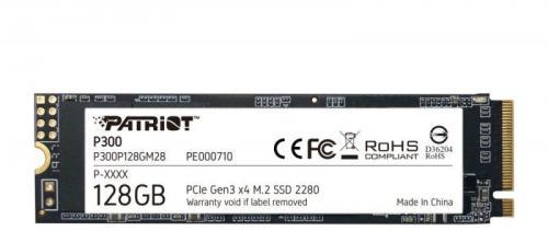 SSD Patriot Spark P300P128GM28, 128GB, PCIe NVMe Gen3 x 4, M.2