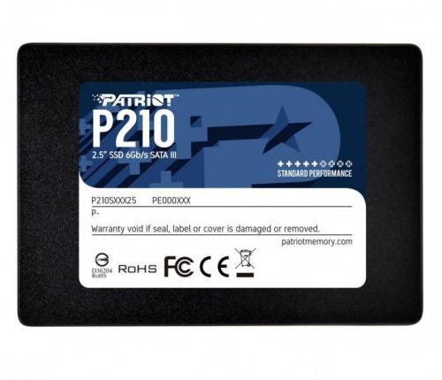 """SSD Patriot Spark P210S256G25, 256GB, SATA 3, 2.5"""""""