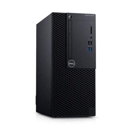 Desktop Dell OptiPlex 3070 MT Intel Core i5-9500, RAM 8GB DDR4, HDD 1TB, DRW, tastatura+mouse, UBUNTU, 3 ani garantie