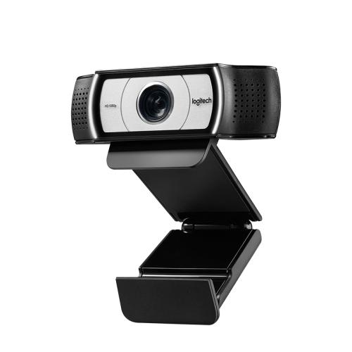 Camera Web Logitech HD Pro C930E, FullHD, 4X digital zoom, 2 x microfon, autofocus, Black