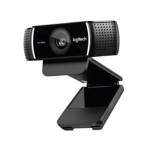 Camera web Logitech C922 HD Pro Stream, FullHD 1080p, autofocus, microfon, negru, USB