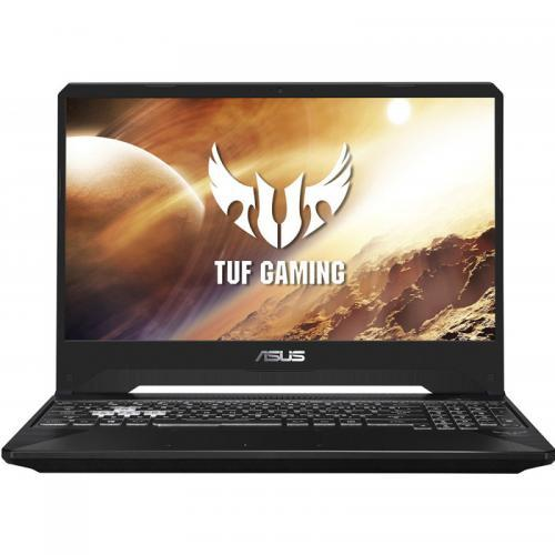 "Notebook Gaming ASUS TUF FX505GT-BQ023, 15.6"" FHD, Intel Core i5-9300H 2.4GHz, RAM 8GB DDR4, SSD 512GB, video GTX1650 4GB DDR5, Tastatura iluminata, fara OS"