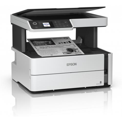 Multifunctional inkjet monocrom CISS Epson M2170, A4, 39ppm, Duplex, USB, retea, wireless