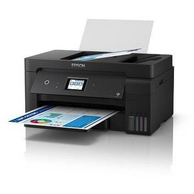 Multifunctional inkjet color CISS Epson L14150, A3+, printare, copiere, scannare, fax 17ppm, USB2.0, LAN, wireless