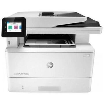 Multifunctional laser monocrom HP LaserJet Pro MFP M428fdn, A4 (Printare, Copiere, Scanare, Fax), viteza 38ppm, duplex, D-ADF, USB, GLAN