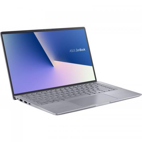 "UltraBook ASUS ZenBook 14 UM433IQ-A5024, 14"" FullHD, AMD Ryzen 5 4500U 2.3GHz, RAM 8GB, SSD 512GB, video dedicat nVidia MX350 2GB DDR5, fara OS"