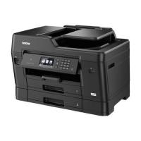 1 x Multifunctional inkjet color Brother MFC-J3930DW, A3 (printare, copiere / scannare / fax), 35ppm, duplex, D-ADF, USB2.0, LAN, wireless