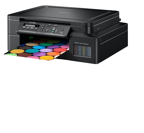Multifunctional inkjet CISS Brother DCP-T520W, print/scan/copy, A4, 17 ppm mono, 9.5 ppm color, WiFi direct, USB 2.0