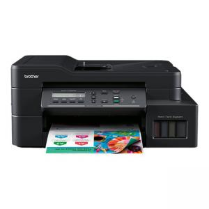 Multifunctional inkjet CISS Brother DCP-T720DW, print/scan/copy, A4, 17 ppm mono, 16.5 ppm color, duplex, ADF 20 coli, wireless, USB 2.0