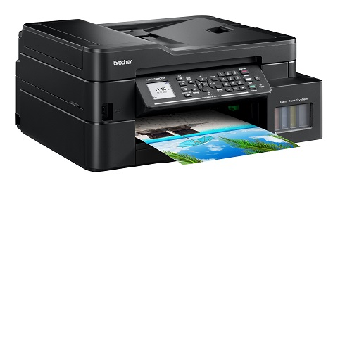 Multifunctional inkjet CISS Brother MFC-T920DW, print/scan/copy/fax, A4, 17ppm mono, 16.5ppm color, duplex print, ADF 20 coli, USB 2.0, Ethernet, Wireless