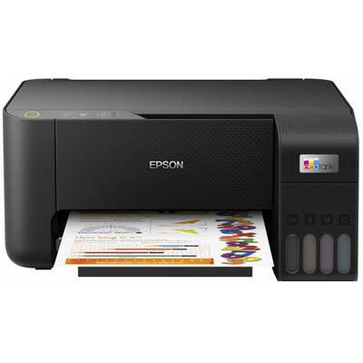 Multifunctional inkjet color Epson EcoTank CISS L3210, A4, viteza 10ppm a/n, 5ppm color, USB 2.0, Smart Panel