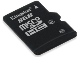 Card memorie Kingston Micro-SDHC, 8GB, Class 4