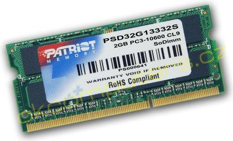 Memorie Laptop Patriot Signature 2GB DDR3 1333MHz