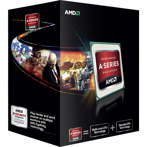Procesor AMD A10 X4 5800K, 3,8GHz / 4,2GHz, Socket FM2, Box, Black Edition