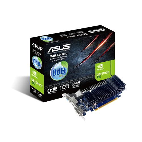 Placa video ASUS nVidia GeForce GT210, 1024MB, GDDR3, DVI, HDMI, PCI-E