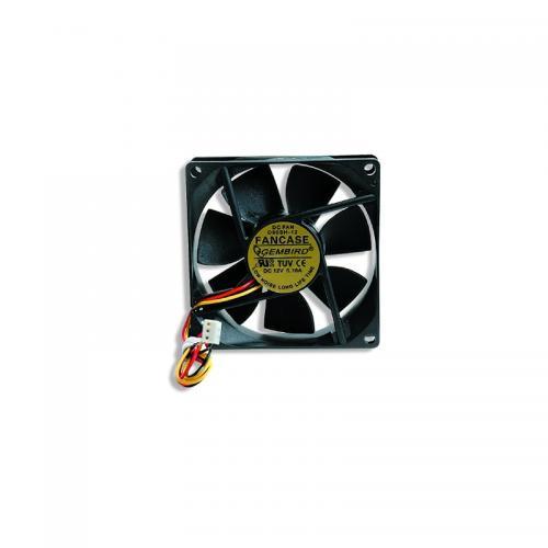 Ventilator / radiator Gembird FANCASE 80 mm