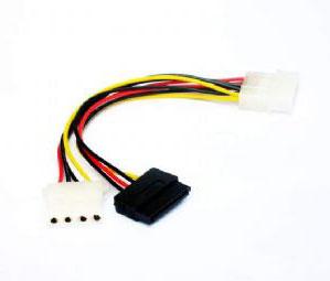 Cablu Alimentare SATA Gembird CC-SATA-PSY2, 0.135 m
