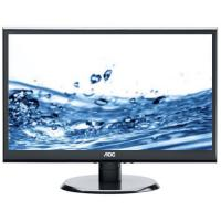 "Monitor LED AOC e2450Swdak, 23.6"", Wide, Full HD, VGA+DVI, boxe, negru"