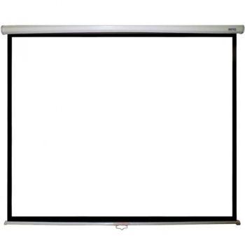 "Ecran de proiectie Benq  80"" (200cm) 160 cm x 120 cm, montaj perete/tavan."