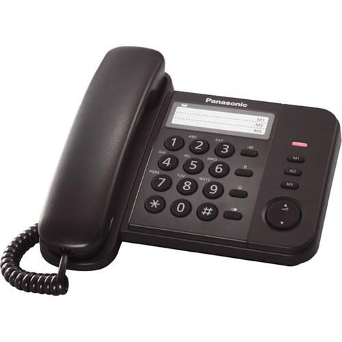 Telefon analogic Panasonic KX-TS520FXB, Negru