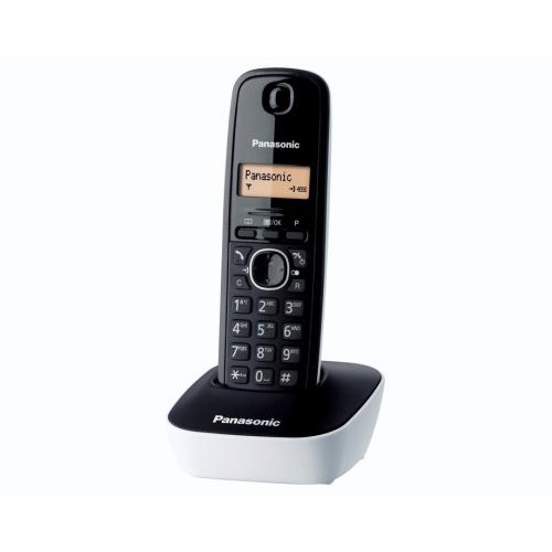 Telefon Panasonic Dect KX-TG1611FXW, Caller ID, Alb