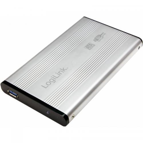 Rack Logilink UA0106A, S-ATA, USB 3.0, Silver
