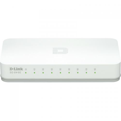 Switch D-Link GO-SW-8E, Alb