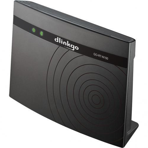 Router Wireless D-Link GO-RT-N150, Negru
