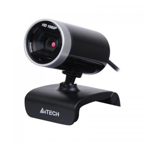 Camera web A4Tech PK-910H, 1080p FullHD Sensor, 16MP photo, microfon, Negru/Argintiu