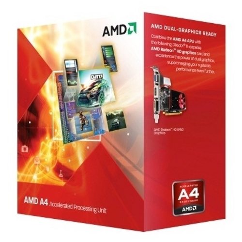 Procesor AMD A4-4020, 3.2GHz, Socket FM2