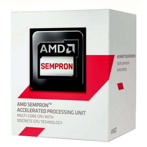 Procesor AMD Sempron X4 3850, 1.3GHz, Socket AM1, 2MB, Box