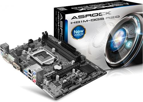 Placa de baza Asrock H81M-DGS R2.0, Intel H81, Socket LGA1150