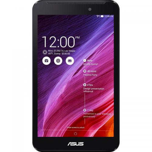 "Tableta ASUS MeMO Pad ME70C, 7"" IPS MultiTouch, Intel Atom Z2520 1.2GHz Dual Core, 1GB, 8GB, Power VR SGX544MP2, Wi-Fi, Bluetooth, GPS, Android 4.3, Black"