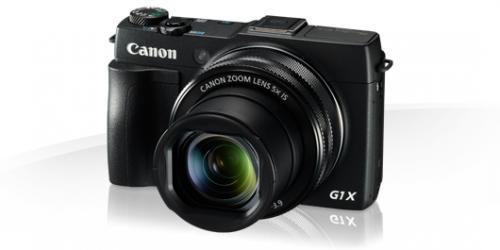 Camera foto digitala Canon PowerShot G1 X Mark II, 12.8 MP,  Negru