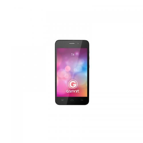 Telefon mobil Gigabyte GSmart T4 Lite, Dual SIM, Black