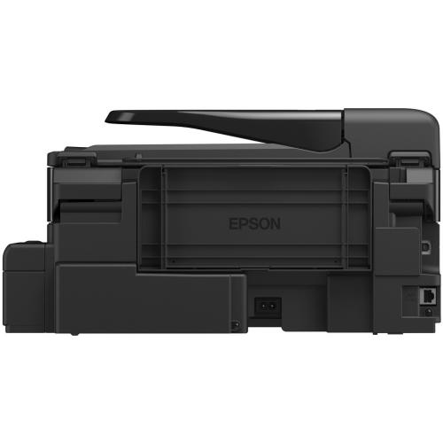 Multifunctional inkjet monocrom CISS Epson M200, A4 (Printare, Copiere, Scanare), 34ppm alb-negru, 1440x720dpi, ADF, USB 2.0, Ethernet