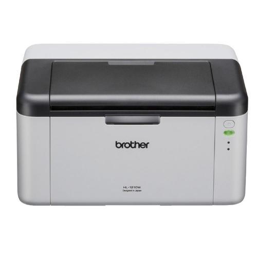 Imprimanta laser alb-negru Brother HL-1210WE, Alb