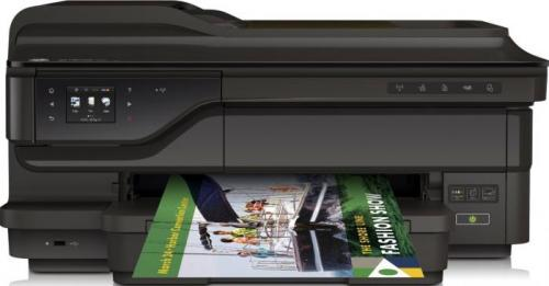 Multifunctional HP Officejet 7612 e-All-in-One, Negru