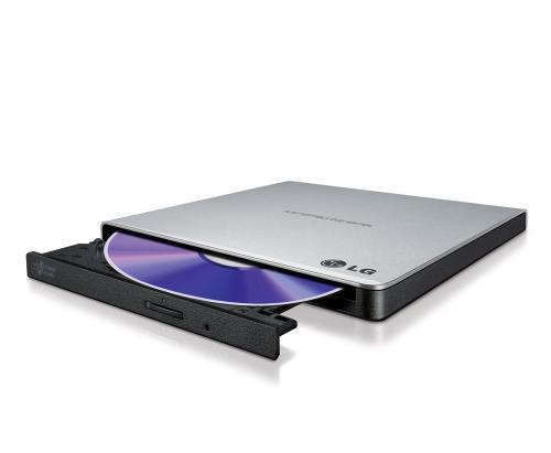 Unitate optica DRW LG GP57ES40, 8X, extern, USB2.0, slim, silver, retail