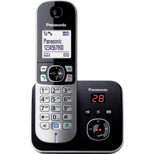 Telefon Panasonic Dect KX-TG6821FXB, Negru