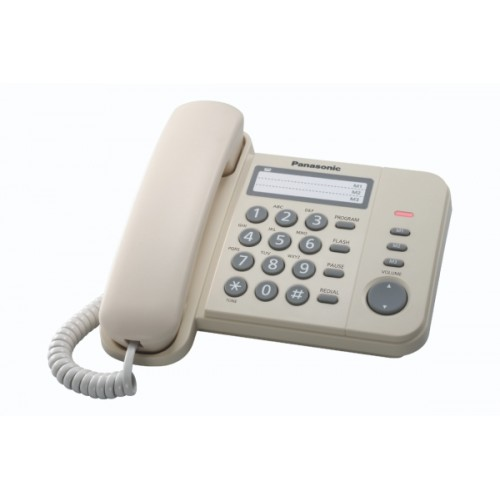 Telefon analogic Panasonic KX-TS520FXJ, Gri